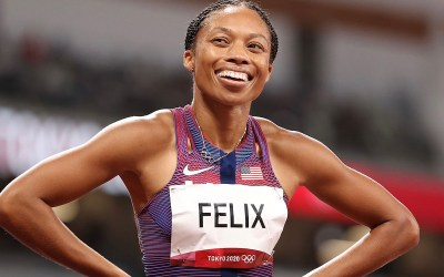 Allyson Felix wins tenth Olympic medal to become the most decorated woman in track and field history