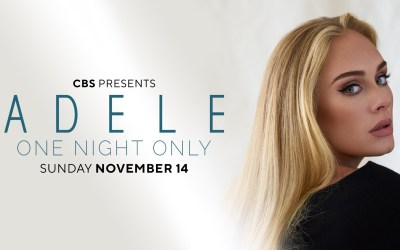 Adele One Night Only – November 14th on CBS