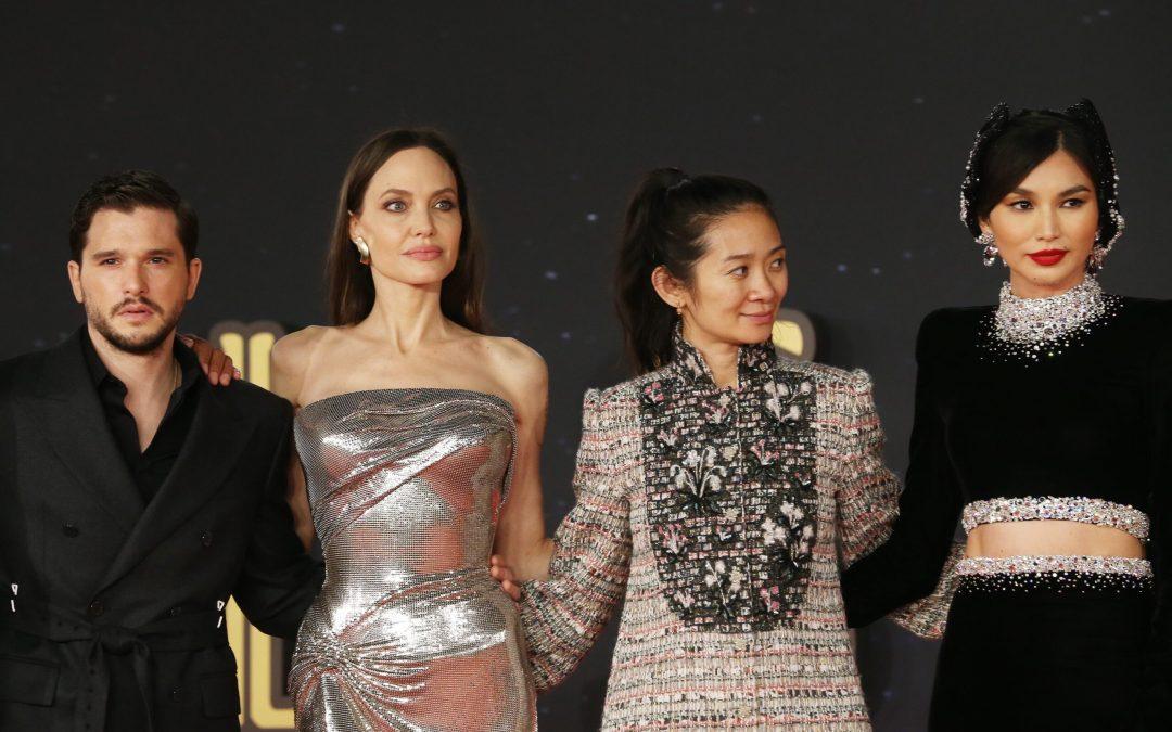 "STARS OF MARVELS' ""ETERNALS"" SHOWED OUT AT ROME INTERNATIONAL FILM FESTIVAL"
