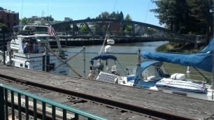 Dock Walk Petaluma, CA