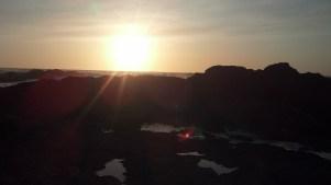 Sun at Glass Beach