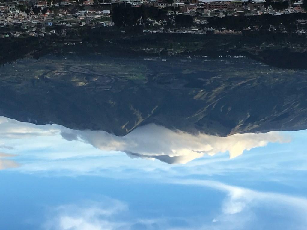 Volcano outside of Otavalo, Ecuador