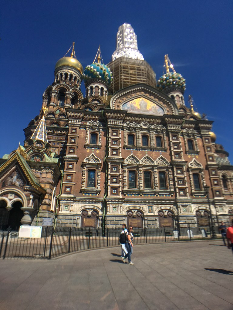 Chuch on the Spilled Blood, St. Petersburg, Russia