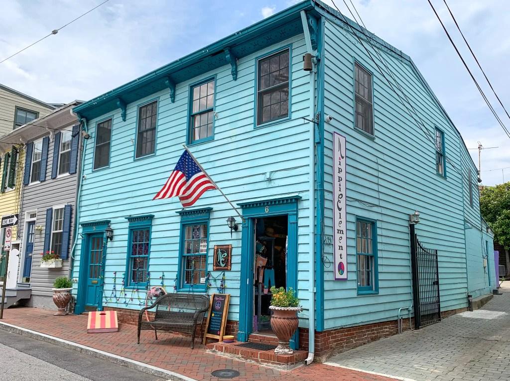 Hippie Element Shop in Annapolis, Maryland