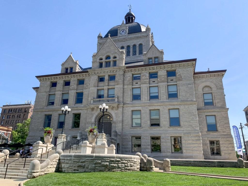 Historic Courthouse Building in Lexington, Kentucky
