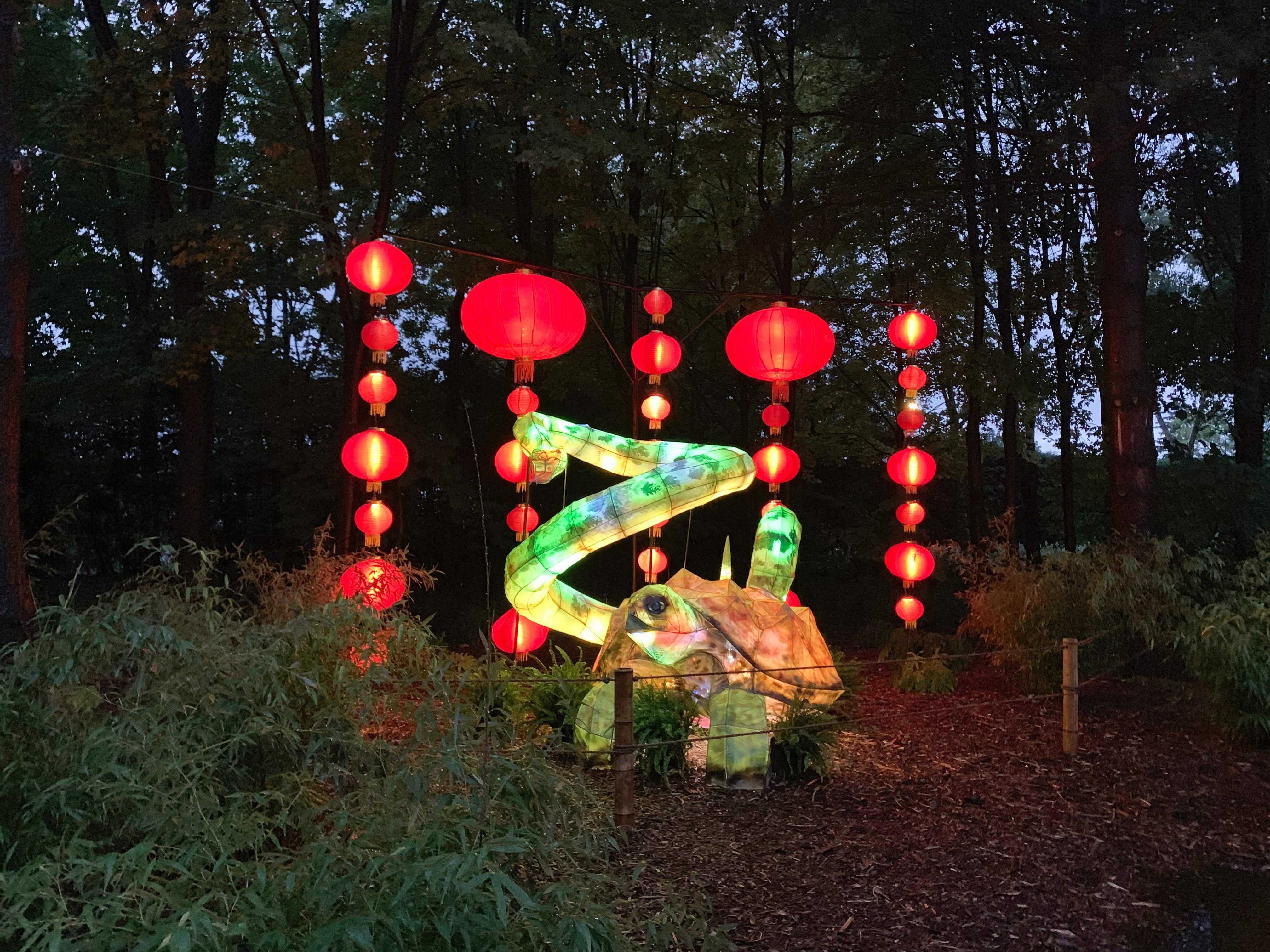 Montreal Must-See -Gardens of Light at the Botanical Garden