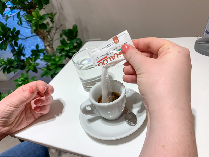 coffee in Naples, Italy