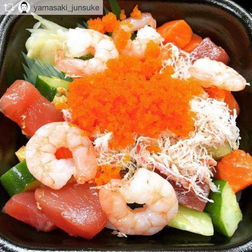 ข้าวหน้าปลาดิบ-Sasafune-Donmaru-2-Wherejapan-ญี่ปุ่นไปไหนดี-ร้านอาหารห้ามพลาด-เมนู-500-เยน-เมนู-1-เหรียญ-เมนู-1-Coin