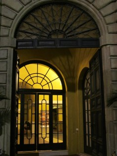 Rossini theatre - the entrance