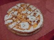 Torta della nonna (crumble pie with custard and pine nuts)