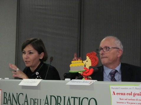 Cristina Ortolani and Tonino Pencarelli