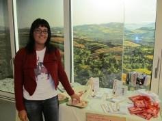 Metella Orazi from the book shop 'Sogni e Bisogni'