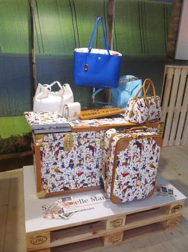 Piero Guidi's bags: a detail