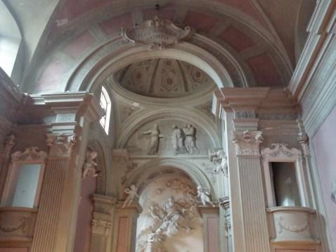 Chiesta dell'Annunziata: behind the Alter