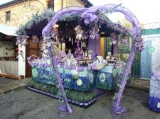 A lavnder stall