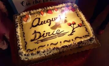 Dirce's birthday cake