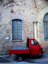 A Piaggio 'Ape' in Rimini