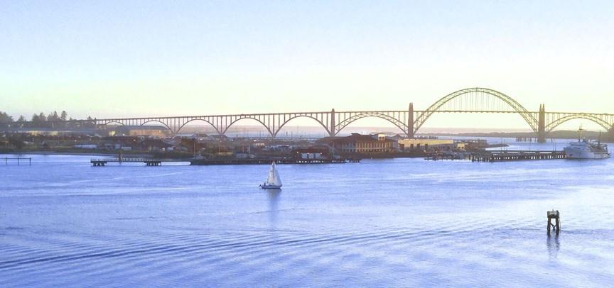 yaquina bay bridge-04 12x BY CHARLEBOIS