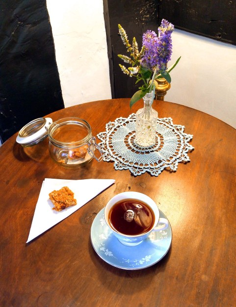 Tea at Lower Wythall, Herefordshire