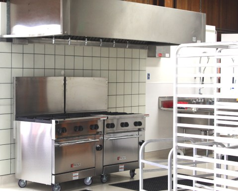 Living Lite's new 'hot kitchen' in Fort Bragg CA. Photo: Mary Charlebois