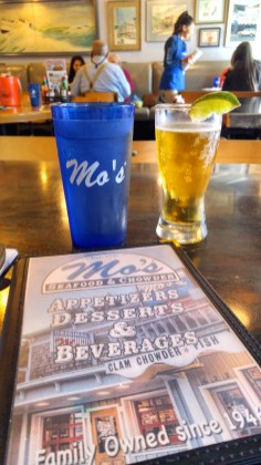 Corona at Mo's, Newport Oregon. Photo: Mary Charlebois