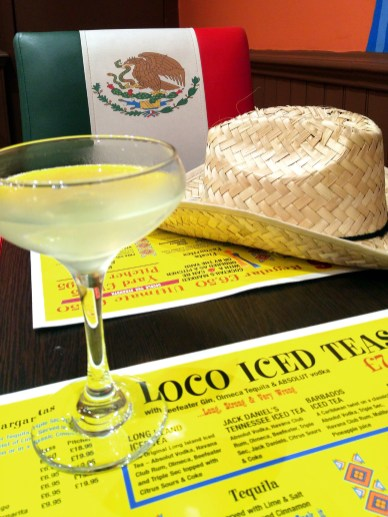 Margarita at Taco Loco, Canterbury, Kent, England. Photo: Mary Charlebois