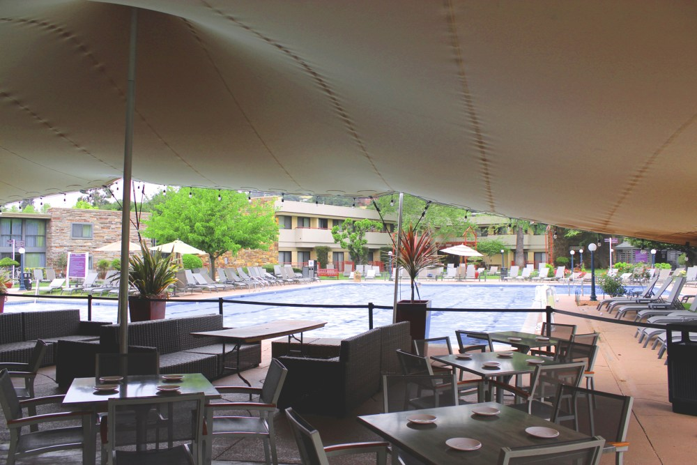 Flamingo Hotel, Santa Rosa California. Photo: Mary Charlebois