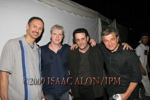 L-R: Golder O'neil, Bass Guitar. Laurence Elder Keyboard. Ken Talve, Guitar. & carlo maclud araya