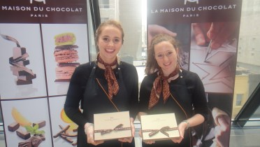 La Maison du Chocolat from Paris and locations in NYC serving exquisite classic French chocolate Truffles.