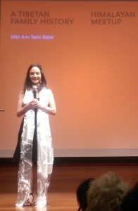 Author Ann Tashi Slater present Travels Within and Without at the Rubin Museum © WhereNYC