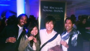 Whisky and fun at Raise The Macallan
