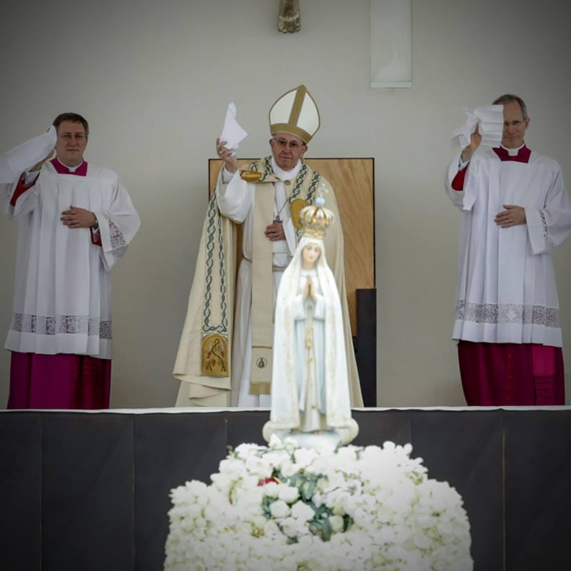 Fatima's third secret – don't shoot down the Pope