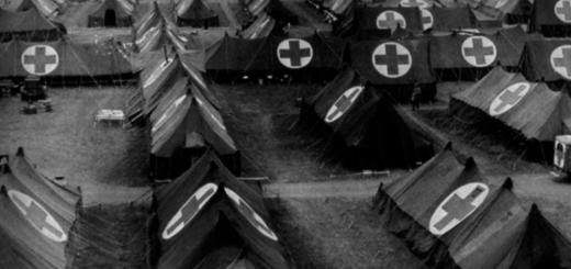 Field hospital in WWI