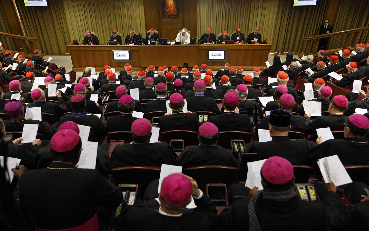 Episcopalis Communio gives the Synod Of Bishops teaching authority