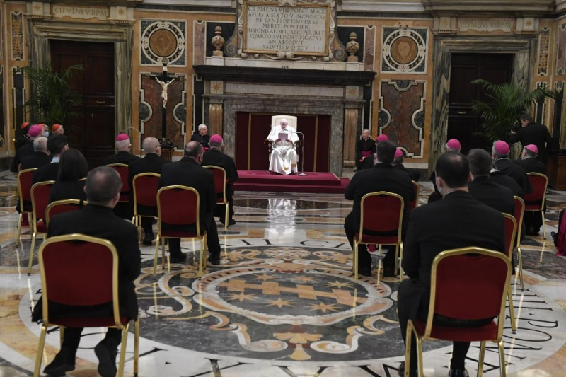 Pope Francis: The Council is the Magisterium of the Church