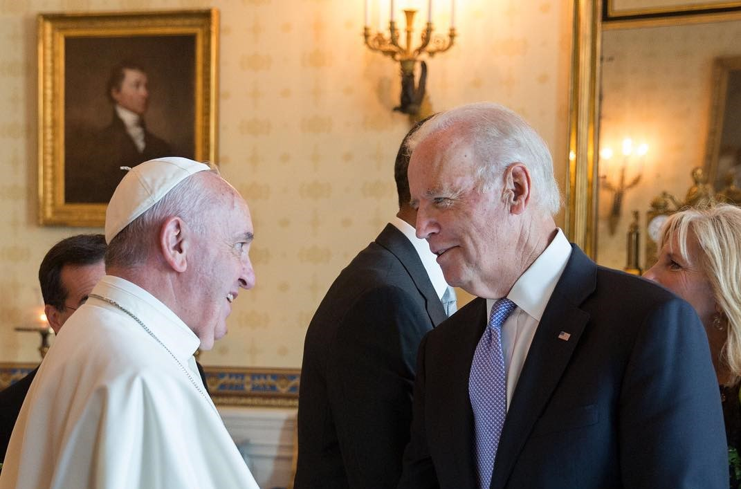Faggioli on Biden's Catholicism and the Bigger Picture