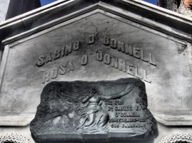 Randomly looked up and saw an O'Donnell crypt. Spooky.
