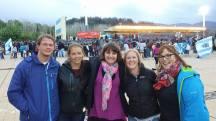 Yenz, Stina, Dani, Aussie girl and I!