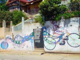 Magic bike ride.