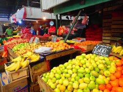 Fruits everywhere.