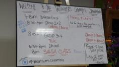 Everyday gotta check the board to see what's up.