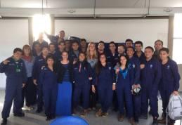 My practicum student in Bogota! <3