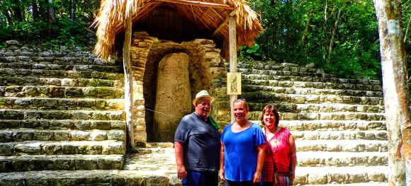 These big stones were essentially Mayan message boards - but this one was used specifically for religious information.