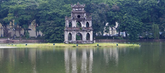 Hanoi Sightseeing – Sword Lake, Temple of Literature, Hanoi Citadel & Cathedral