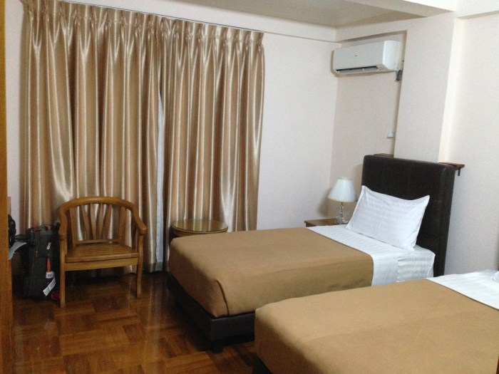 Yangon hotel review