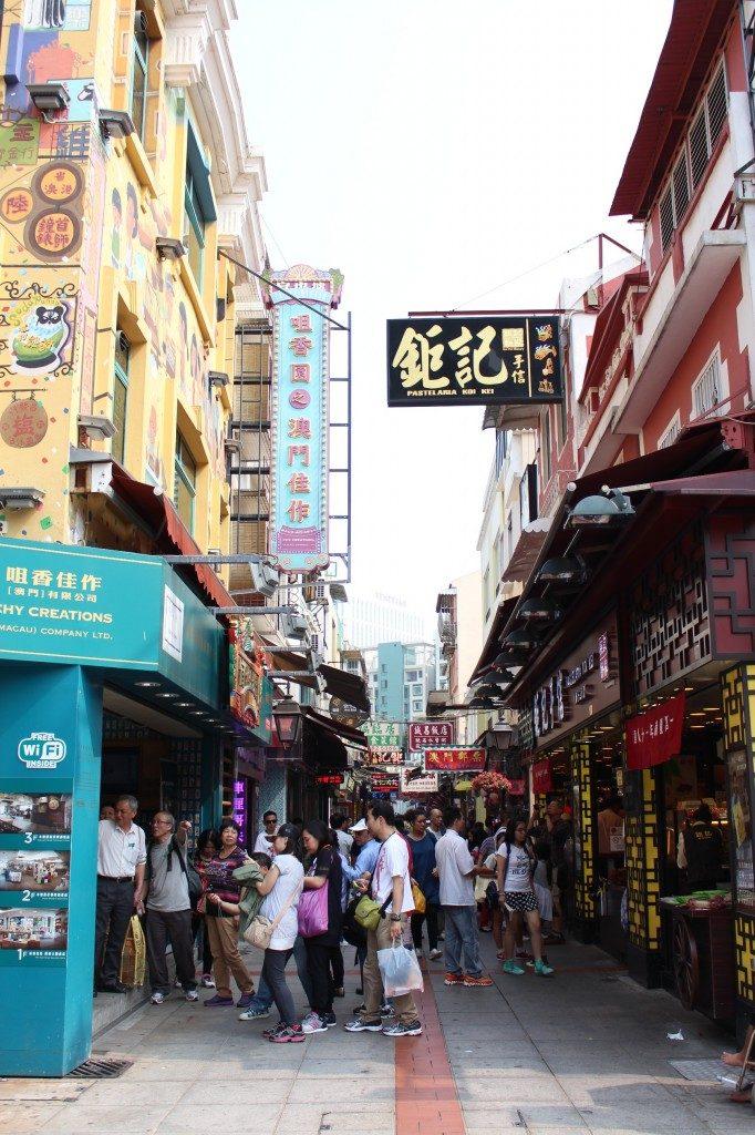 Macau Rua da Cunha