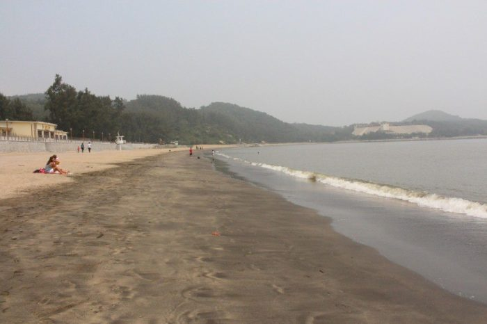 Macau Black Sand Beach
