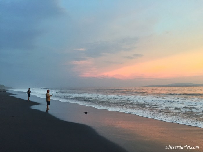 Things to do in Bali - Black Sand Beach