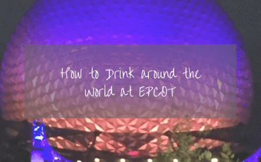 drink at Epcot