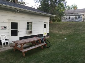 The Honey Hub for cyclists in Gackle